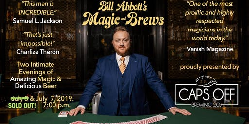 Magic & Brews! Two Intimate Evenings of Amazing Magic & Delicious Craft Beer