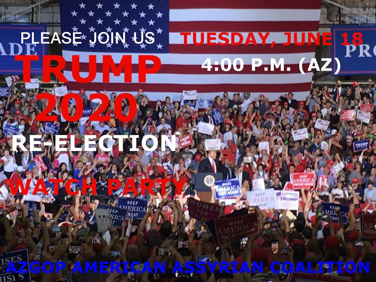 TRUMP 2020 MAGA Watch Party