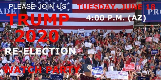 TRUMP 2020 MAGA Watch Party