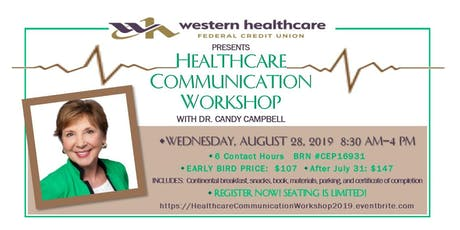 Healthcare Communication Workshop  tickets