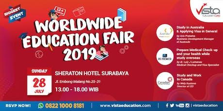 Worldwide Education Fair 2019 Surabaya - Sheraton Hotel tickets