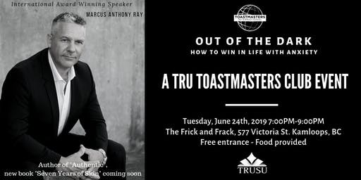 TRU Toastmasters Club Social with Marcus Anthony Ray