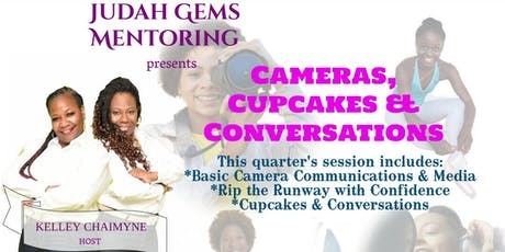 Cameras Cupcakes and Conversations tickets