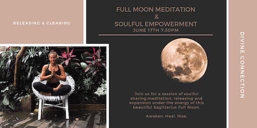 FULL MOON MEDITATION & SOULFUL EMPOWERMENT