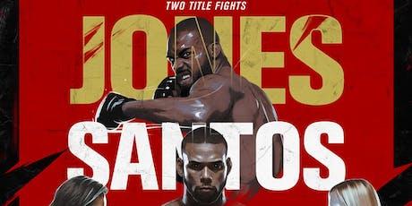 UFC 239: Jon Jones vs Thiago Santos Viewing Party @ Sage  tickets