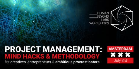 Project Management Workshop - Mind Hacks & Methodology for Creatives tickets