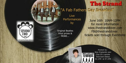 Fab Fathers Day Breakfast with Studio Two Beatles Tribute