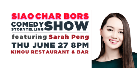 Siao Char Bors Comedy ft. Sarah Peng tickets
