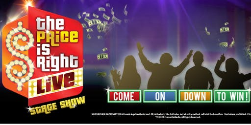 The Price is Right LIVE! New Guest host Tyler bradley