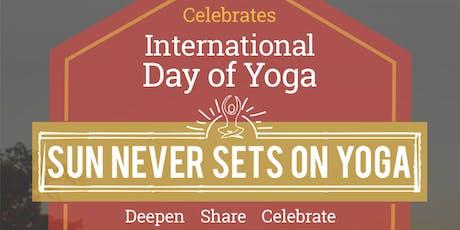 International Day of Yoga 2019 tickets
