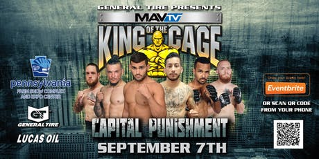 KING OF THE CAGE: Capital Punishment tickets