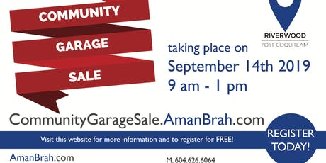 Community Garage Sale tickets