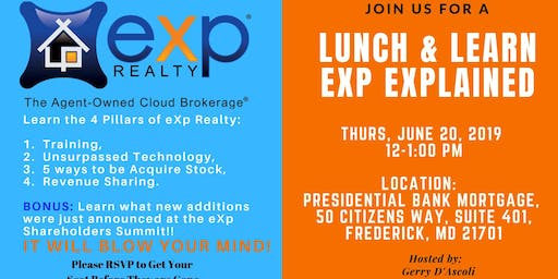 Lunch & Learn - Exp Model & Newly Announced Additions Coming