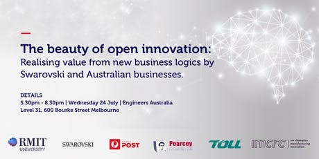 The beauty of open innovation: Realising value from new business logics by Swarovski and Australian businesses. tickets