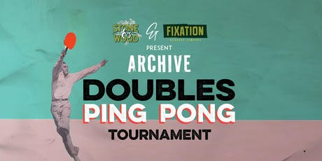 Doubles Ping Pong Tourny  tickets