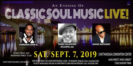 Classic Soul Music LIVE! tickets