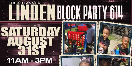 Linden Block Party 614 tickets