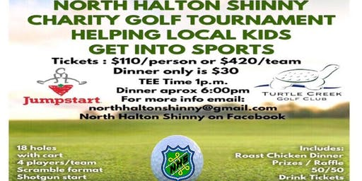 North Halton Shinny  Charity Golf Tournament