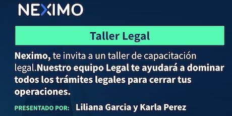 Capacitación Legal entradas