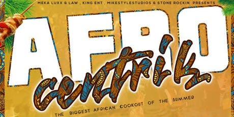 Afrocentrik: the BIGGEST and HOTTEST cookout of the summer tickets