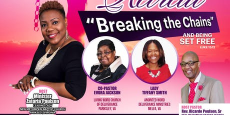 """Breaking the Chains"" 2019 5th Annual Women's Retreat tickets"
