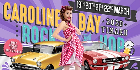 Caroline Bay Rock & Hop 2020 tickets