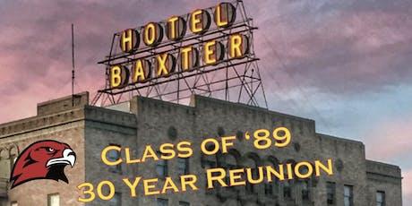 Bozeman High School Class of '89 Reunion - Friday night tickets