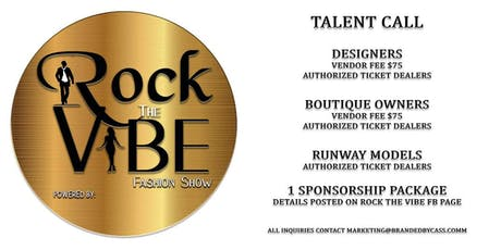 Rock The Vibe Fashion Show  tickets