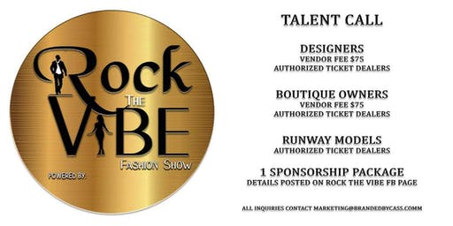 Rock The Vibe Fashion Show
