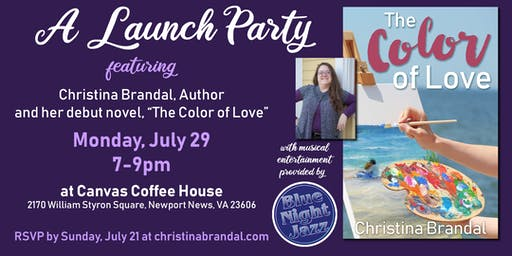 Christina Brandal, Author - Launch Party