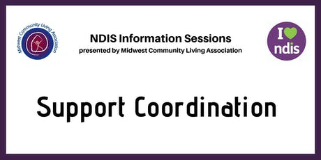 NDIS Info Session - Support Coordination tickets