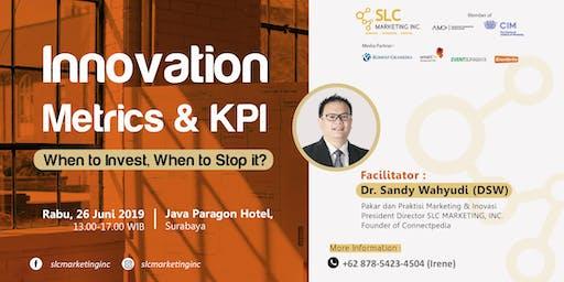 [PAID EVENT] - INNOVATION METRICS & KPI