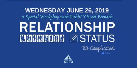 Relationship Status: It's Complicated - Workshop for Singles tickets