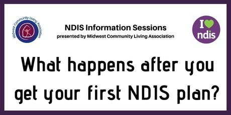 NDIS Info Session - What happens after you get your first NDIS plan tickets