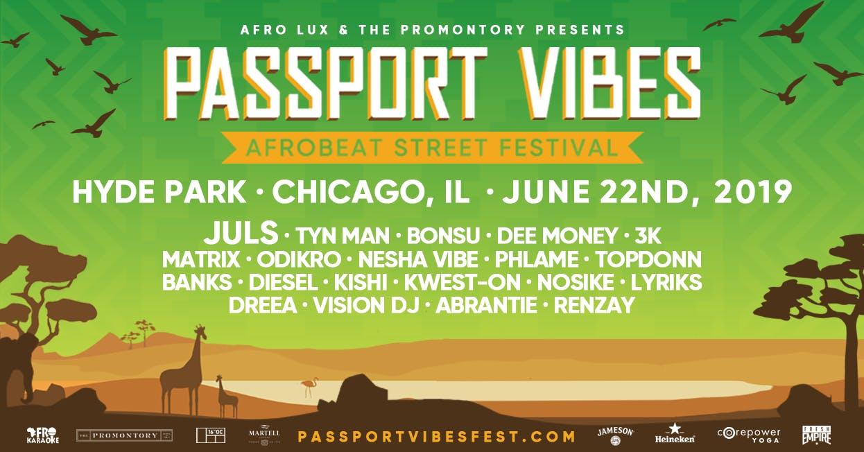 Passport Vibes: Afrobeat Street Festival