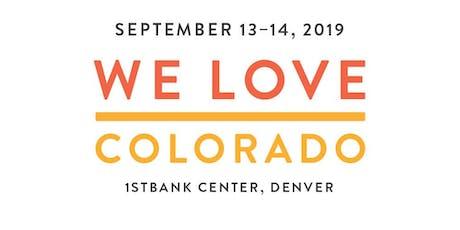 We Love: Colorado tickets