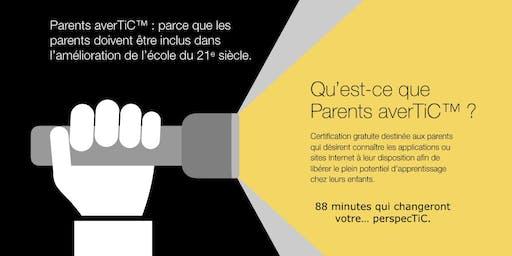 Parents averTiC™ avec Philippe VAILLANT et Pierre POULIN