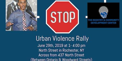Urban Violence Rally