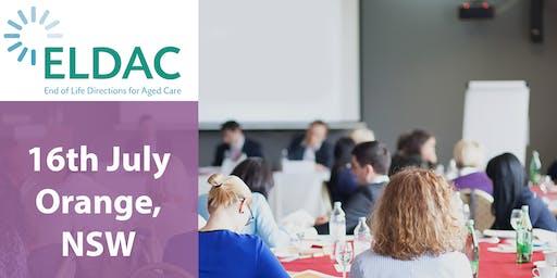 ELDAC Aged Care Workshop: Orange, NSW