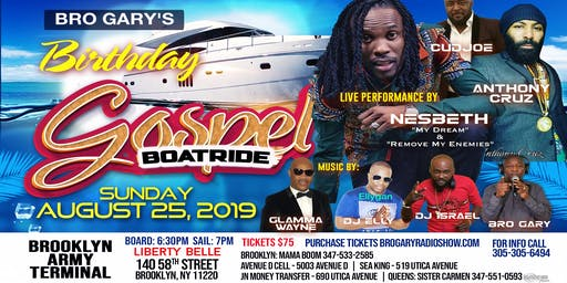 Bro. Gary Birthday Gospel BOAT RIDE
