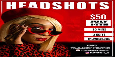 Headshot/Compcard Studio tickets