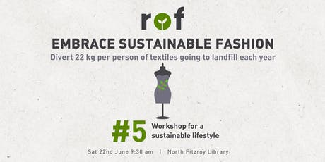 Build a Sustainable Wardrobe & Op-shop With a Slow Fashion Stylist tickets