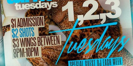 Too Turnt Tuesdays Presents 1,2,3 Tuesdays tickets