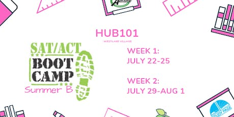 [SUMMER B] SAT/ACT BOOT CAMP (WESTLAKE) tickets