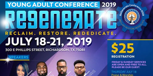 ReGenerate  Young Adult Conference 2019