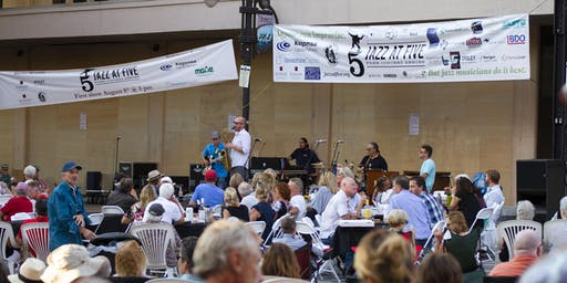 "Jazz at Five (""Battle of the Bands"") 8/21"