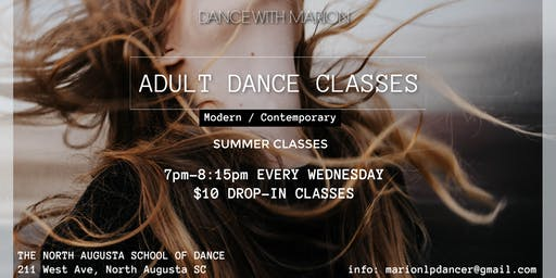 Summer Adult Modern/Contemporary dance class