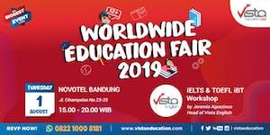 Worldwide Education Fair 2019 Bandung - Novotel Hotel