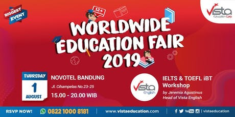 Worldwide Education Fair 2019 Bandung - Novotel Hotel tickets