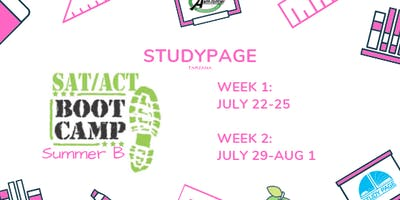 [SUMMER B] SAT/ACT BOOT CAMP (TARZANA)